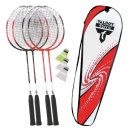Lager Talbot Torro Badminton 4-Attacker Set, rot-weiss...