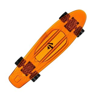 Choke Juicy Susi Vinyl Skateboard clear orange 57cm