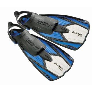 Lager Aqua Lung Schwimmflossen Flexar Travel blau Größe XS/S