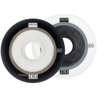 Powerslide Wheels Defcon, weiss, 76mm, 4 Stück