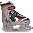 Rebel Kinder Schlittschuhe Ice Star rot verstellbar 30-33