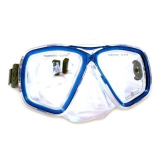 Aqua Lung Tauchmaske Acapulco Pro Midi für Jugendliche- gelb M