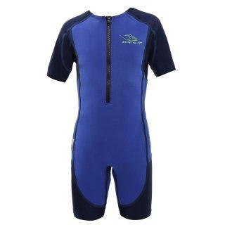 Aqua Sphere Stingray HP, Neopren-Schwimmanzug Kids blau-dunkelblau