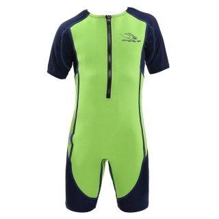 Aqua Sphere Stingray HP, Neopren-Schwimmanzug Kids hellgrün-blau