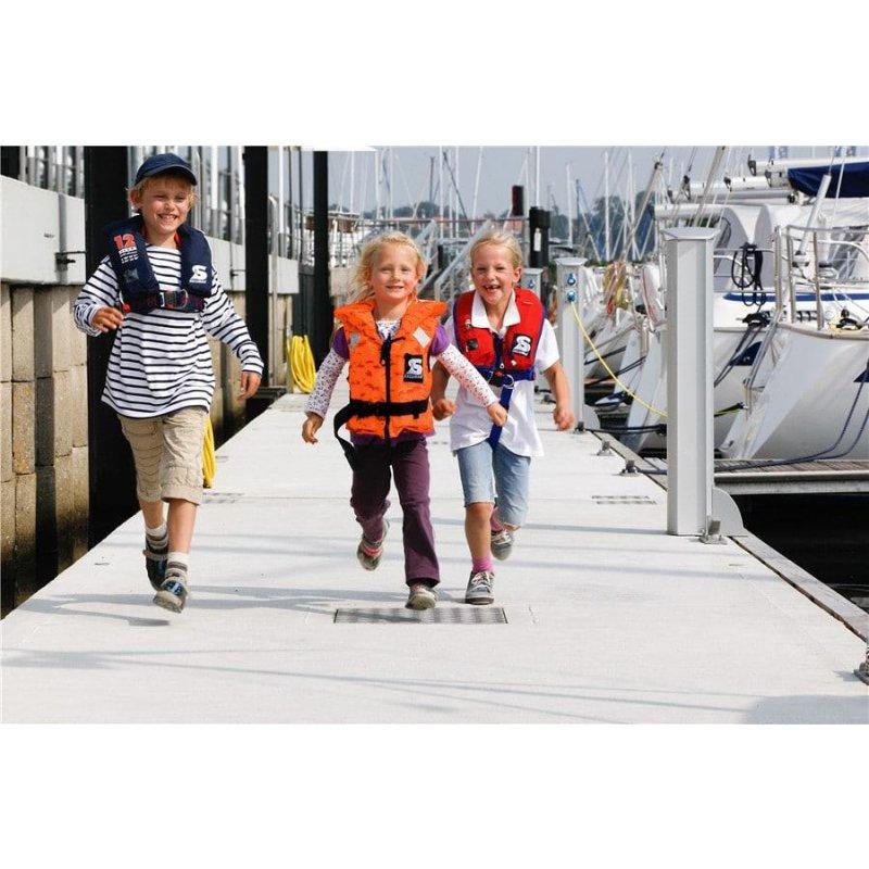 Secumar BRAVO Kinder und Erwachsene Schwimmweste Rettungsweste 10-120 KG
