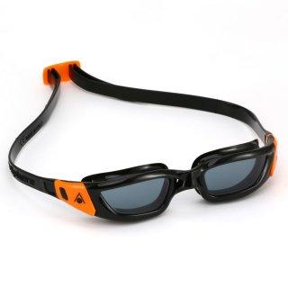 Aqua Sphere Schwimmbrille Kameleon jun. schwarz-orange, getöntes Glas, für Jugendliche
