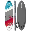 DVSPORT Stand-Up-Paddleset RIVER 9.8 |  295 x 85 x 15 cm