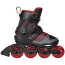 Playlife Kinder Inline Skate Dark Breeze verstellbar 35-38