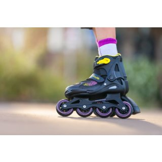Playlife Kinder Inline Skate Joker Yellow Glow verstellbar