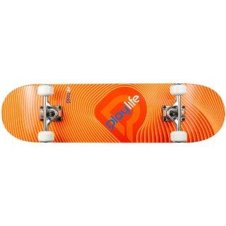 Playlife Skateboard Illusion Orange, ABEC 7
