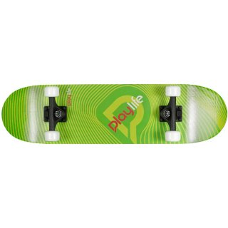 Playlife Skateboard Illusion Green, ABEC 5
