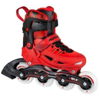 Powerslide Kinder Inlineskate Fitness Skate Universe 4W red verstellbar