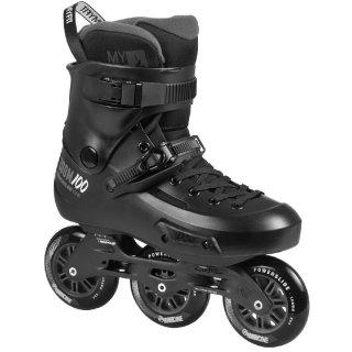 Powerslide Inline Skate | Trinity Freeskate | Zoom Pro Black 100 Größen 37-46