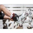 Powerslide Inline Skate Freeride Urban Skate Next Black White 90 Größe