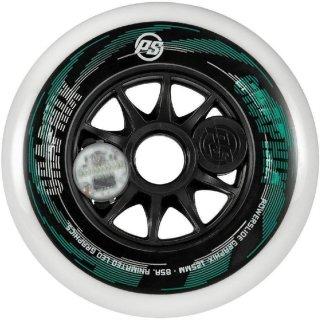 Powerslide Ersatzrolle Graphix | LED Wheel | grün 125 mm | links oder rechts