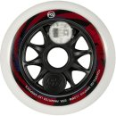 Powerslide Ersatzrolle Graphix | LED Wheel weiß-rot  |110...