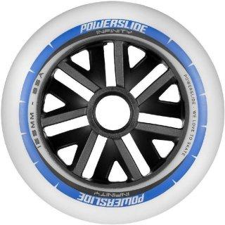 Powerslide Ersatzrollen Infinity Wheel 125mm für Inliner - 6 Stück