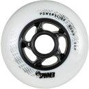 Powerslide Wheels Ersatzrollen Spinner weiß 88 A