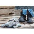 MARO Socken   Stricksocken   Kuschelsocken   Skifahrersocken   Wandersocken   dicke Socken mit Wolle   Damen Retro   Design 106