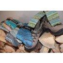 MARO Socken | Stricksocken | Kuschelsocken | Skifahrersocken | Wandersocken | dicke Socken mit Wolle | Damen Retro | Design 105