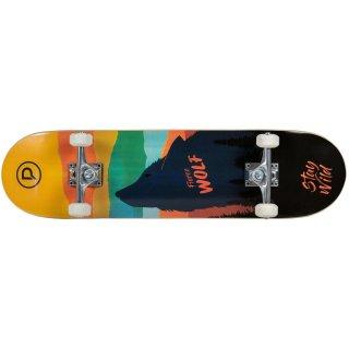 Playlife Skateboard Fierce Wolf, ABEC 9