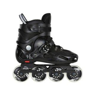 Playlife Inline Skate | Urban Skates Aztec | verstellbar | 80mm | schwarz Größen 36-45