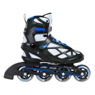 Playlife Inline Skate | Fitness Skates | Uno Black 80 | Größen 37-45
