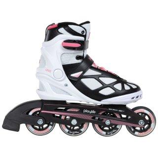 Playlife Inline Skate | Fitness Skates | Uno Pink  80 Größen 37-42