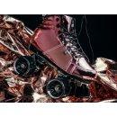 Chaya Rollschuhe | Roller Skates | Dance Roller Skates | Pink Laser Größen 37-42