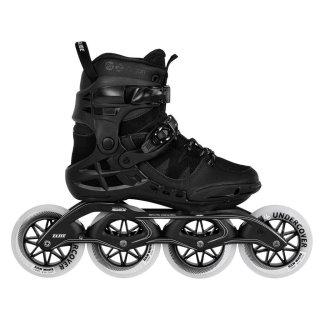 Powerslide Inline Skate | Fitness Trinity Skate | Phuzion Argon Road Black 110 | Größen 40-47