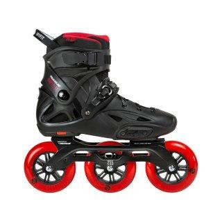 Powerslide Inline Skate Urban Freerider Skate Imperial Black Red 110 Größen 37-46