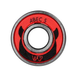 Wicked Ersatz Kugellager WCD ABEC 5, 16 Stück