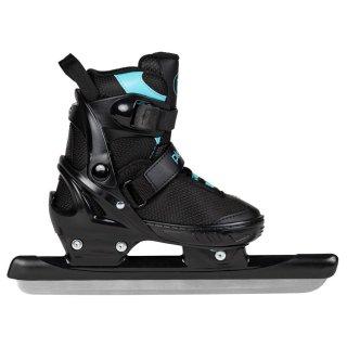 Playlife Kinder Schlittschuhe Glacier TT verstellbar schwarz Größen 29-40