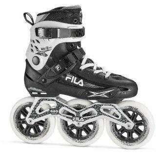 FILA Inline Skates Fitness Skates Houdini 125 schwarz-weiß Größen 37-47